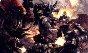 Wolves vs Tyranids