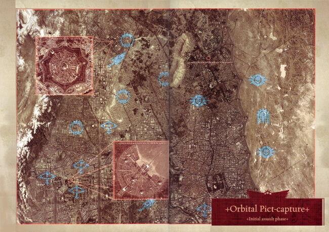 Posiciones Leales en Ciudad Coral Fase Inicial Atrocidad de Istvaan III.jpg