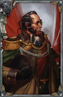 Guardia imperial comandante