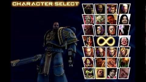 If warhammer 40k had a fighting game