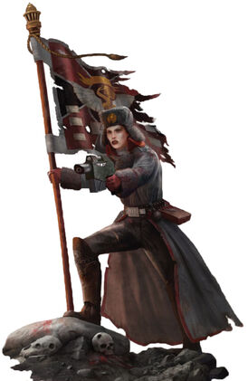 Mujer Guardia Imperial Valhalla