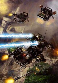 Land Speeder Venganza Ángeles Oscuros Dark Angels Codex 6ª Warhammer 40k Wikihammer