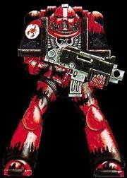 Escorpiones Rojos Escuadra Persecucion Incidente Armstrong Marines Espaciales Astartes Wikihammer