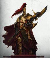 Imperio adeptus custodes lanza guardiana