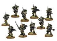 Escuadra de Kasrkin Cadia