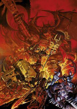 Demonios Caos Warhammer 40k