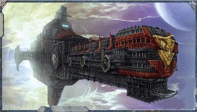 Mechanicus crucero arca.jpg