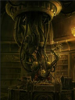 Mechanicum servidor administratum biblioteca