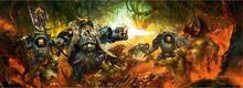 Logan Grimnar combate en Midgardia