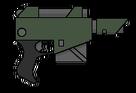 Pistola láser modelo kantrael