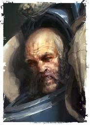 Marine guardia del lobo de logan grimnar Skard Frostmane