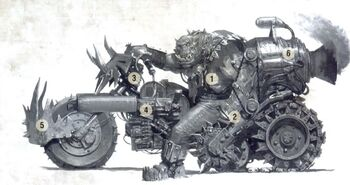 Zhadsnark y la Deztripadora Wikihammer 40K