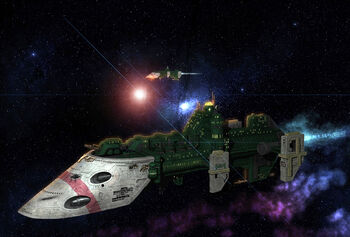 Destructor Clase Cobra Flota Imperial Formacion Wikihammer
