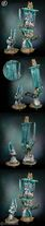 Miniatura azrael, gran maestre de los ángeles oscuros