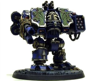 Caos dreadnought legion alfa