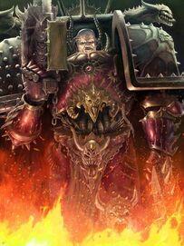 Caos señor del Caos de slaanesh