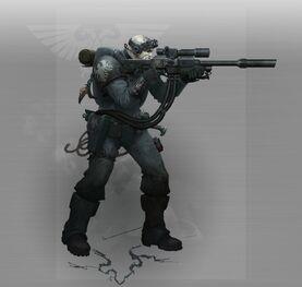 Explorador Francotirador Guardia del Cuervo