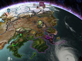 Mapa Kronus Dawn of War Dark Crusade screenshot