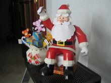 Papa Noel con regalos