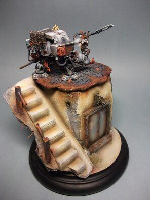 Dreadnought Caballeros Grises Golden Demon 2011 4 Warhammer 40k Wikihammer