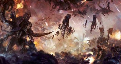 Orkos vs tiranidos guerra por octarius.jpeg