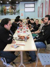 Festival de Espadas Madrid 2013 Wikihammer comida