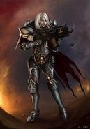 Hermana de Batalla del Sudario de Plata 2
