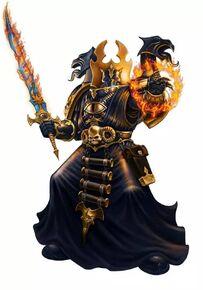 Hechicero del Caos Tzeentch Legión Negra