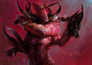 Guardián Secretos Demonio Slaanesh Warhammer 40k Wikihammer.jpg
