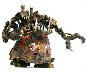 Pizoteador orko warhammer 40k wikihammer