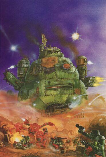 Gargante Orko por David Gallagher 1989
