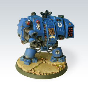 Dreadnought Miniatura Ultramarines Warhammer 40k Wikihammer