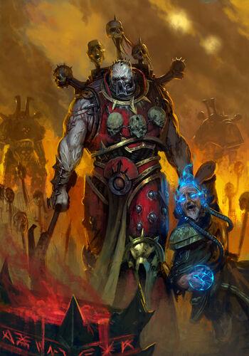 Caos berserker Sacrificio de un psíquico a Khorne.jpg