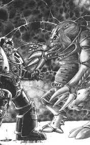 Patriarca genestealer vs exterminador