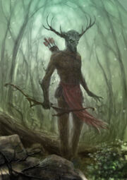 Hircine the spirit of the hunt by entar0178-d67x2l1
