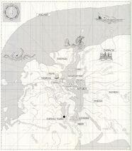 Gaia map translated