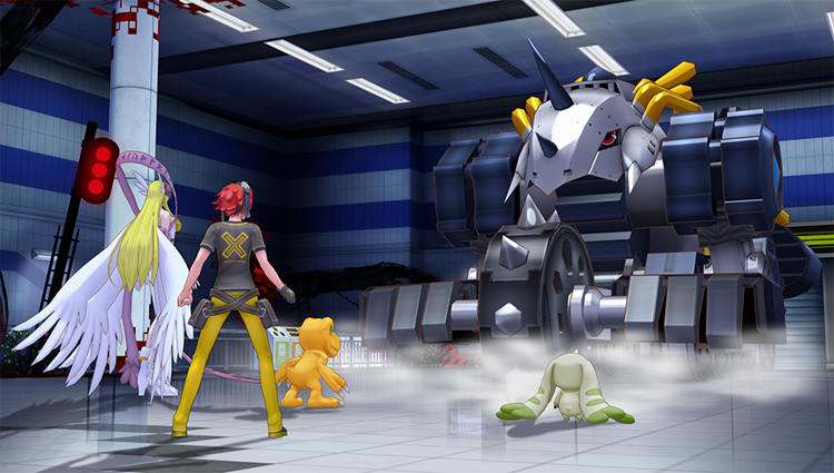 Digimon Fondo
