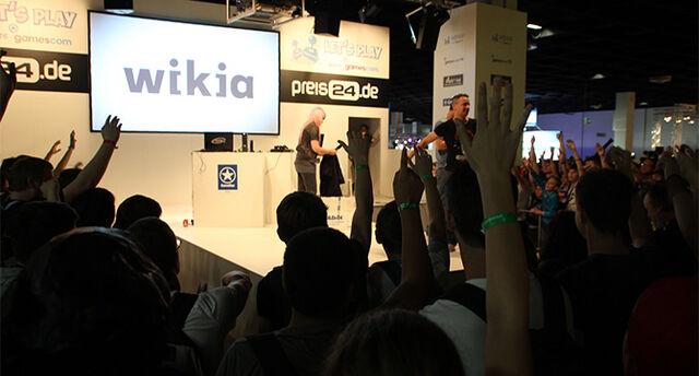 Archivo:Wikia en Gamescom 2013.jpg