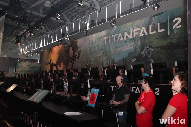 Archivo:Gamescom 2016 - Stand de Titanfall 2.jpg