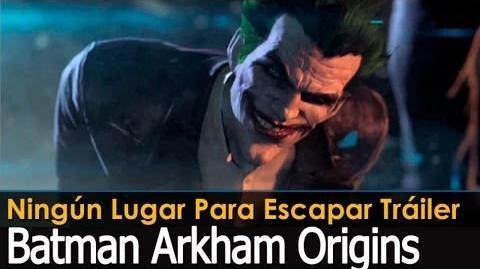 Batman Arkham Origins - Ningun lugar para escapar Trailer GC 2013 (Subtitulado)