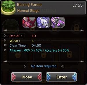 Blazing Forest 1