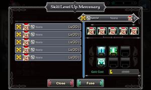 Merc Skill Up 2