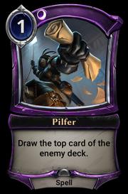 Pilfer
