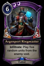 Argenport Ringmaster