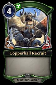 Copperhall Recruit