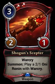 Shogun's Scepter