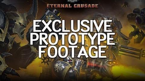 Warhammer 40K Eternal Crusade - Prototype Footage