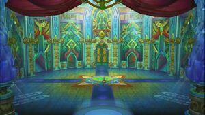 Polka in Baroque Castle Entrance Hall