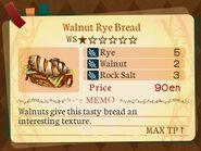 Stratum 1. Walnut Rye Bread