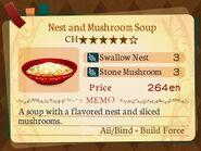 Stratum 5. Nest and Mushroom Soup